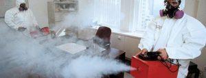 дезинсекция квартиры туманом