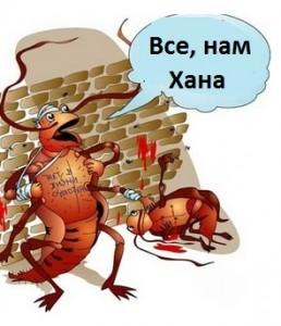 Уничтожение тараканов в Реутове